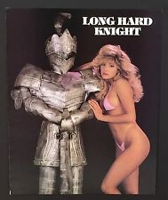 Long Hard Knight Vintage Cheesy T & A Sexy BIKINI Poster / Print  20 x 16