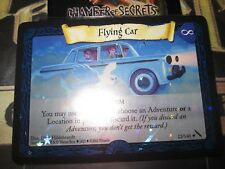 HARRY POTTER TCG CARD CHAMBER OF SECRETS FLYING CAR 22/140 RARE FOIL MINT EN