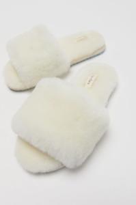 Casa Clara Frankie Guenium Shearling Slipper - $60 - size 6 - NWT