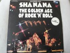 SHANANA THE GOLDEN AGE OF ROCK N ROLL 2X LP RECORDED LIVE! 1973 KAMA SUTRA EX