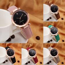 Women Watch Leather Fashion Casual Watch Luxury Analog Quartz Crystal Wristwatch