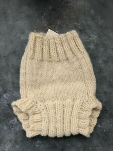 NEWBORN Diaper Cover WOOL baby infant cloth nappy soaker overpants knitted