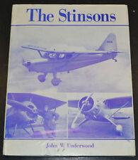 1969 THE STINSONS Airplane Design and History John W Underwood Hc/Dj