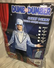 Adult Mens Dumb and Dumber Harry Dunne Tuxedo Hoodie Costume Size Small NEW