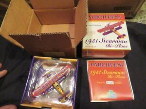 Warehouse Find! CASE LOT of 48- 1999 Gearbox 1931 Stearman Parcheesi  Bi-Planes