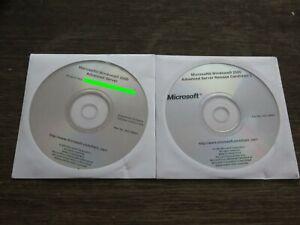 Microsoft windows 2000 advanced server Evaluation Software and RC 2