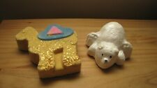 Lush Chris The Camel bath bomb & Polar Bear Plunge bubble bar; NEW, DISCONTINUED