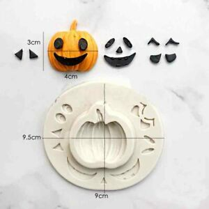 Halloween Silicone Mould Pumpkin Cake Chocolate Chocolate Baking Topper Mold DIY