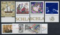 Deutschland 1998 Mi. 2020-2026 Postfrisch 100% Ohr, Schiff, Weihnachten