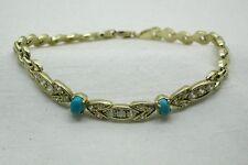 "Yellow Gold 14 Carat Fine Bracelets 8 - 8.49"" Length"