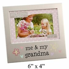 Me and My Grandma Aluminium Photo Picture Frame Gift 6 X 4 by Juliana