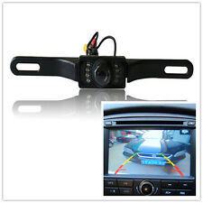 Infrared Night Vision Car Licence Plate Frame Rear View Parking Reverse Camera