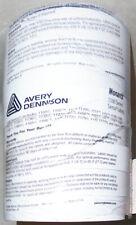 NEW -Monarch 1100- Avery Dennison White Senso Price Gun Labels - 8 Rolls