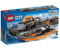 Lego City 60085 Pickup Truck & Trailer With Power Boat. New & Sealed, Retired