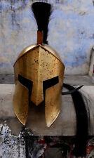 Spartan Leonidas King Spartan Helmet 300 Movie Solid Steel Helmet Medieval Gift