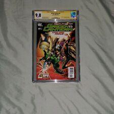 Green Lantern: 25 CGC 9.8 SS (First Appearances: Larfleeze & Atrocitus)