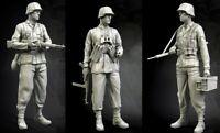 1/35 Resin German SS 3 Soldiers unpainted unassembled BL981