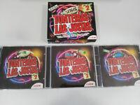 TONTERIAS LAS JUSTAS EL DANCE QUE LO PETA VOL 2 - 3 X CD MIX DE VALDI EN CAJA