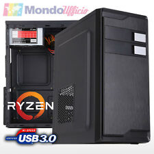 PC Computer AMD RYZEN 3 1200 3,40 Ghz Quad Core - Ram 8 GB - ASRock - USB 3.0