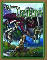D6 Fantsy Creatures, Various, Like New, Paperback
