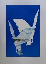 Denoël: La Doves of the Peace - Lithography Signed and Numbered on 600 Ex
