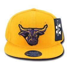 Gold Minnesota State Mankato Mavericks NCAA Flat Bill Snapback Baseball Hat Cap