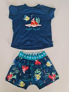 Bonds Kids Disney Sebastian Short Sleeve PJ Set sizes 2 3 4 5 6 7 8 Sebastian