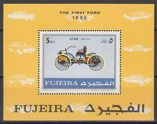 Fujeira 1971 ** Bl.40 A Autos Automobile Cars Ford
