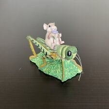 Silvestri Dean Griff Charming Tails Mouse on Grasshopper