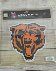 """(2) Chicago Bears 9 x 9"""" Face Large  - Truck Car Auto Window Decal NEW"""