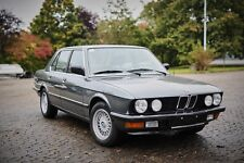 BMW 528 i e28 Classic Data Gutachten Note 2