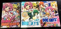 Dog Days: Season 1 2 3 (Chapter 1 - 38 End) ~ All Region ~ Brand New & Seal ~