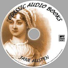 JANE AUSTEN BEST ENGLISH CLASSIC NOVELS 10 AUDIO BOOKS NEW MP3 PC/DVD LADY SUSAN