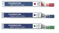 Staedtler Mars Micro Coloured Mechanical Pencil Lead Refill 0.5mm 12 PCs / Tube