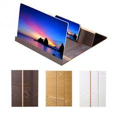 Stereoscopic Amplifying 12 Inch Desktop Wood Bracket WOOD GRAIN