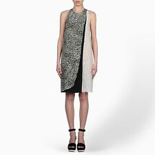 STELLA MCCARTNEY 'Mika' Painted Spot Silk Dress Size 38 NWT $1,520