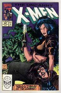 Uncanny X-Men 267 NM+ 9.6  Marvel Comics 1990