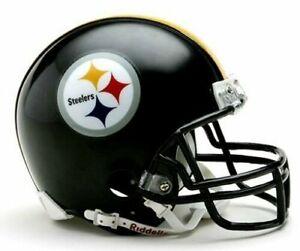 Pittsburgh Steelers VRS4 Riddell Football Mini Helmet New in box