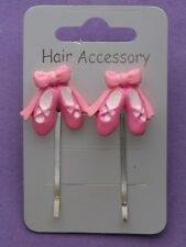 HAIR ACCESSORY - BALLET SHOES GRIPS NEW