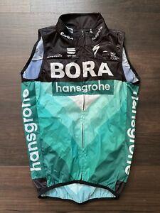 Bora Hansgrohe Vest Gilet Wind Sportful Peter Sagan Small packable pockets