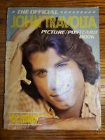 THE OFFICIAL JOHN TRAVOLTA PICTURE/POSTCARD BOOK - Nostalgia - 1978