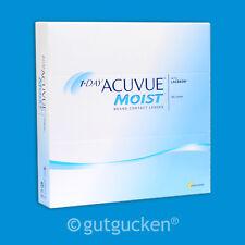 1-Day Acuvue Moist 2 x 180 sphärische Kontaktlinsen Tageslinsen Johnson&Johnson
