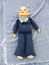 "1930'S Norah Wellings Holland America Sailor Doll Sold ""As Is"" No Hat"