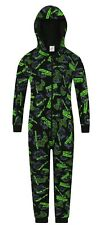 Boys Gaming Mode Activated Controller Sleepsuit Gamer All In One Cotton