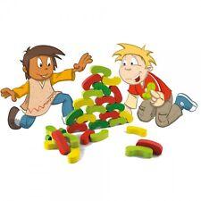 Jeu d'équilibre Jouet écologique Wooden Balancing game Holzspiel 60 pieces Stück