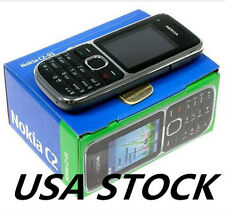 USA Stock! New Nokia C Series C2-01 Black (T-Mobile) 3.2 MP Camera Mobile Phone