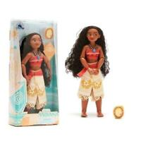 NEW Disney Moana Classic Doll with Clip On Pendant 28cm Tall Toy Doll