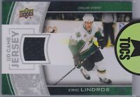 Eric Lindros 2013-14 UD Series One Game Jersey Dallas Stars GJ-LI