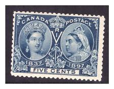 CANADA Sc.54 DIAMOND JUBILEE .05 CENT MNH PG17