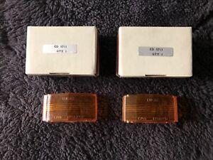 Rolls-Royce Silver Shadow I II 1970-80 Rear Amber Reverse Lens Set CD5713 OEM